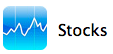iphone stocks icon