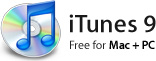 Apple iTunes 9 logo and icon